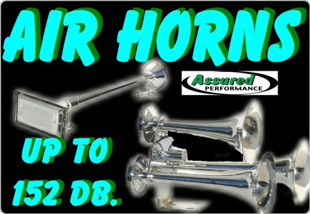 Click Here for Air Horns & Air Kits